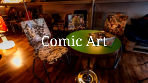 Comic Art und Comic Möbel Kategorie