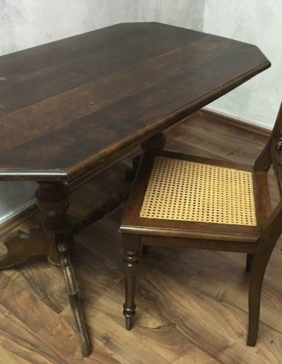 Barockensemble Tisch und Stuhl