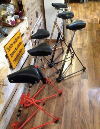 Fahrradhocker Upcycling