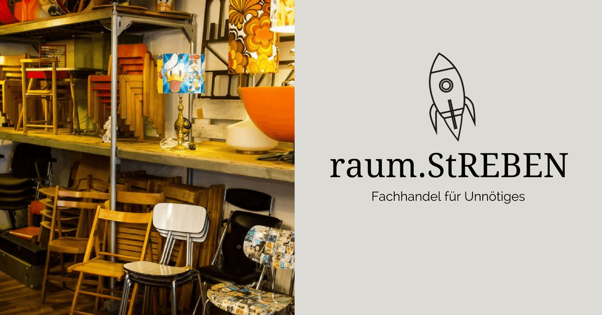 Raumstreben Fürth Der Fachhandel Für Unnötiges Vintage Möbel